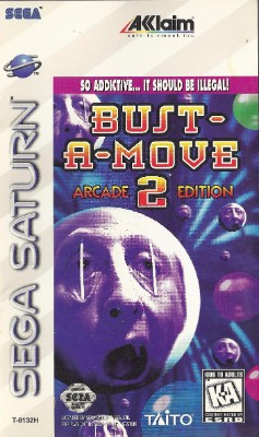 Bust-A-Move 2 Arcade Edition Cover Art