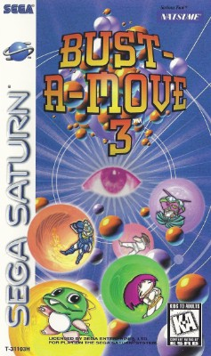 Bust-A-Move 3 Cover Art