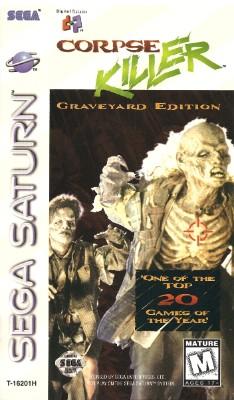 Corpse Killer: Graveyard Edition Cover Art