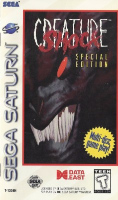 Creature Shock: Special Edition Cover Art