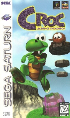 Croc: Legend of the Gobbos Cover Art