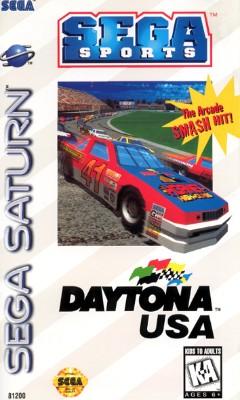 Daytona USA Cover Art