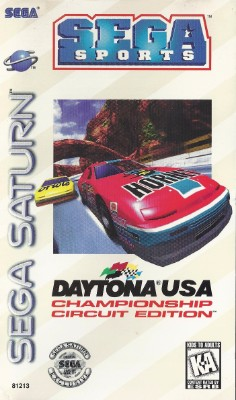 Daytona USA Championship Circuit Edition Cover Art