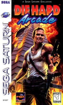 Die Hard Arcade Cover Art