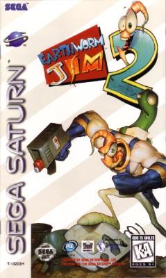 Earthworm Jim 2 Cover Art