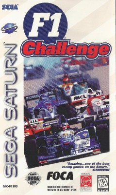 F1 Challenge Cover Art