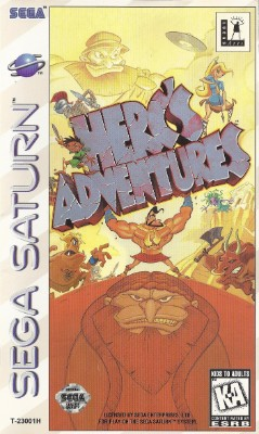Herc's Adventures Cover Art