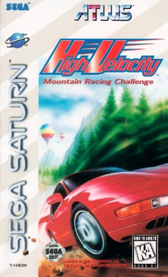High Velocity: Mountain Racing Challenge Cover Art