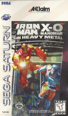 Iron Man X-O Manowar in Heavy Metal Cover Art