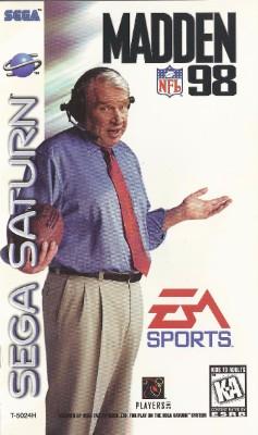 Madden NFL 98 Cover Art