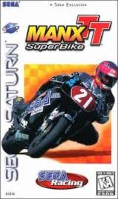 Manx TT Super Bike Cover Art