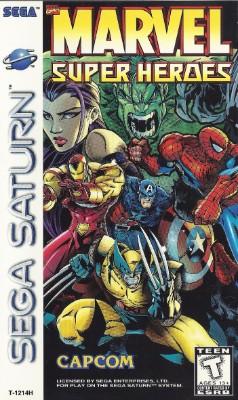 Marvel Super Heroes Cover Art