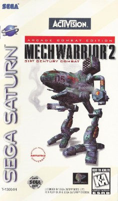 MechWarrior 2 Cover Art