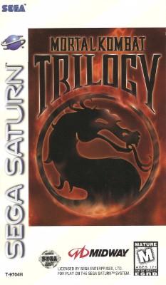 Mortal Kombat Trilogy Cover Art