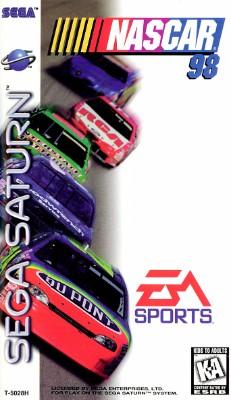 NASCAR 98 Cover Art