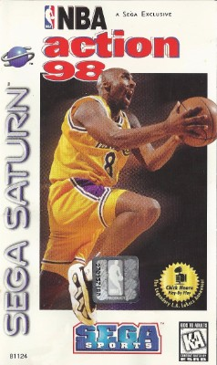NBA Action 98 Cover Art