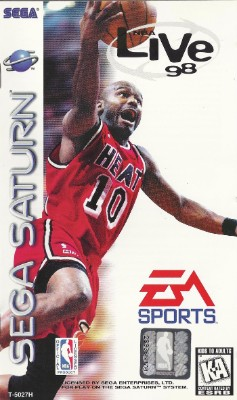 NBA Live 98 Cover Art