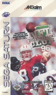 NFL Quarterback Club 96 Cover Art