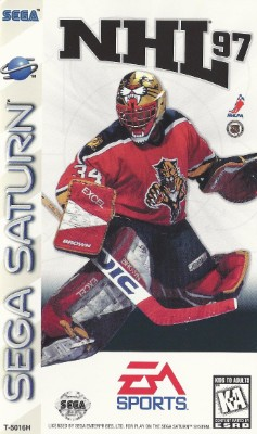 NHL 97 Cover Art