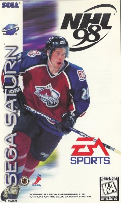 NHL 98 Cover Art