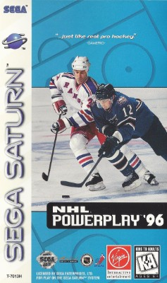 NHL PowerPlay 96 Cover Art
