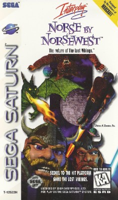 Norse by Norsewest: The Return of The Lost Vikings Cover Art
