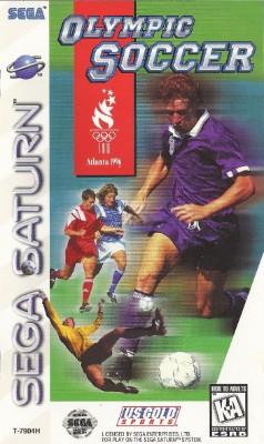 Olympic Soccer: Atlanta 1996 Cover Art