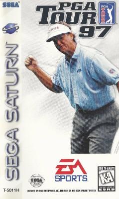 PGA Tour 97 Cover Art