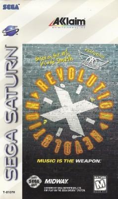Revolution X Cover Art