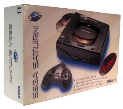 Sega Saturn Cover Art