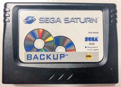 Sega Saturn Backup RAM Cover Art