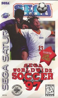 Sega Worldwide Soccer 97 Cover Art