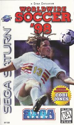 Sega Worldwide Soccer 98 Cover Art
