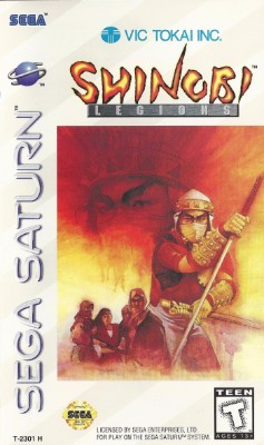 Shinobi Legions Cover Art