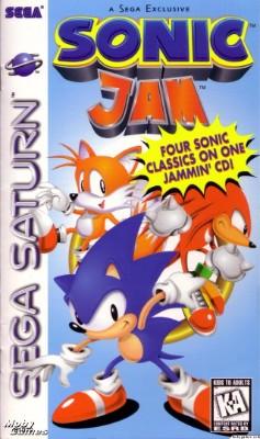 Sonic Jam Cover Art