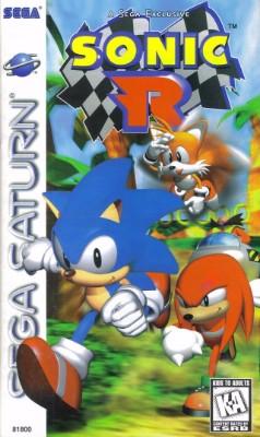 Sonic R Cover Art