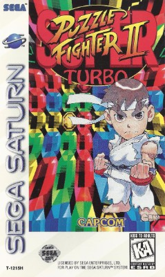 Super Puzzle Fighter II Turbo Cover Art