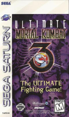 Ultimate Mortal Kombat 3 Cover Art