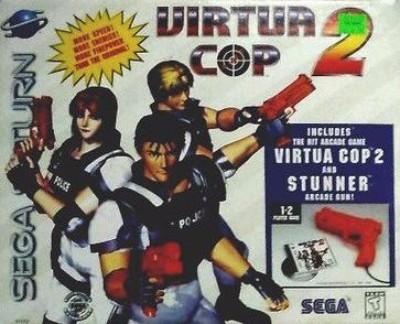 Virtua Cop 2 [Big Box] Cover Art