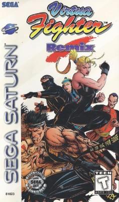 Virtua Fighter Remix [Long Box] Cover Art