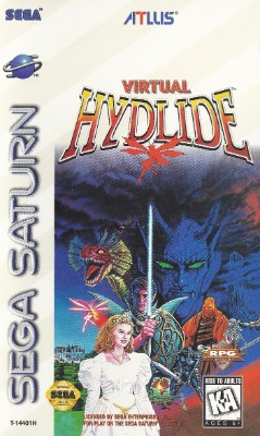 Virtual Hydlide Cover Art