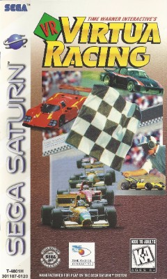 VR Virtua Racing Cover Art