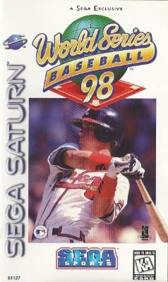 World Series Baseball 98 Cover Art