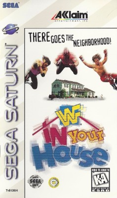 WWF In Your House Cover Art