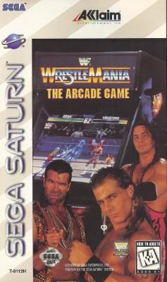 WWF Wrestlemania: The Arcade Game Cover Art