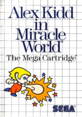 Alex Kidd in Miracle World Cover Art