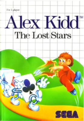 Alex Kidd: The Lost Stars Cover Art