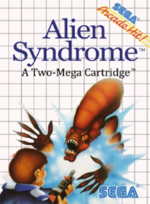 Alien Syndrome Cover Art