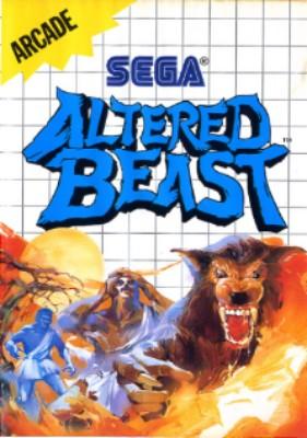 Altered Beast Cover Art
