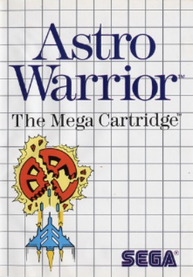 Astro Warrior Cover Art